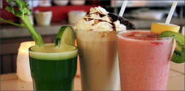 Fresh Juices, Milkshakes and Smoothies