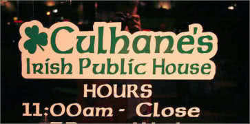 Culhanes Irish Pub in Atlantic Beach