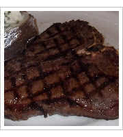 20 ounce Porter House Steak at Monte Carlo Steakhouse and Liquor Store