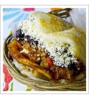 Arepa Pabellon at Pica Pica Maize Kitchen