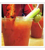 Bacon Bloody Mary at The Coffee Cup