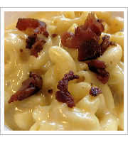 Bacon Mac and Cheese at Pecan Lodge
