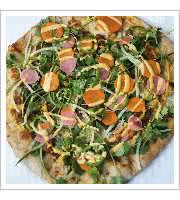 Bahn Mi Pizza at Red Wagon Pizza