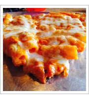Baked Ziti Pizza at Sals Gilbert Pizza