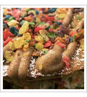 Bam Bam Fruit Pebbles Pancakes at In a Pickle