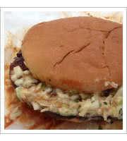 BBQ Bologna Sandwich at Cozy Corner