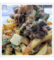 Beef Oxtail Poutine at Tavern on 2