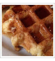 Waffles at Taste of Belgium
