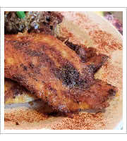 Blackened Catfish at Zydecos