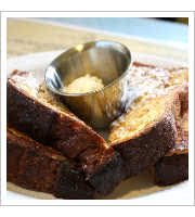 Brioche French Toast at Over Easy