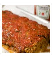 Cajun Meatloaf at Chucks Southern Comforts Cafe