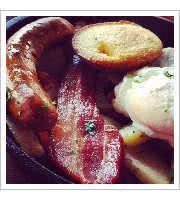 Campfire Breakfast Skillet at Jackalopes Neighbourhood Dive