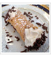 Cannoli at Angelos Civita Farnese