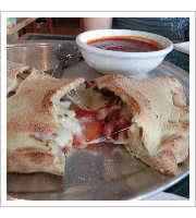 Centurion Calzone at DeFalcos Italian Grocery