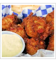 Conch Fritters at Blue Marlin Fish House