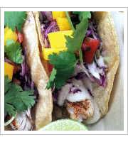 Cousteau Taco at Haggos Organic Taco