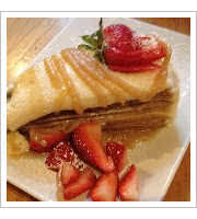 Crepe Cake at Foolish Craigs Cafe