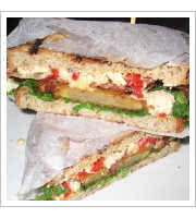 Deep Fried Tomato Sandwich at Whisk Gourmet