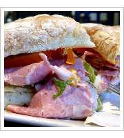The Hoggie Sandwich at Il Porcellino Salumi