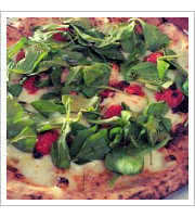 Delia Pizza at Cane Rosso