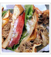 Duck Club Sandwich at Tattooed Moose