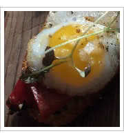 Fried Duck Egg at Ataula