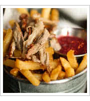 Duck Fat Fries at Beer Belly