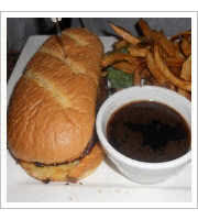 French Dip Sandwich at Shirleys Tippy Canoe