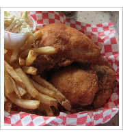 Fried Chicken Dinner at Deli Rheas Chicken Basket