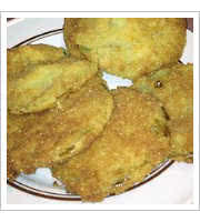 Fried Green Tomatoes at Munchs Sundries