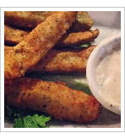 Fried Pickles at Traffic Jam and Snug