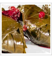 Stuffed Grape Leaves at Kababi Cafe by Kuluck