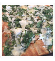 Green Mountain Pizza Pie at Audrey Janes Pizza Garage