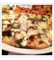 Guineas Pie at Naked City Pizza