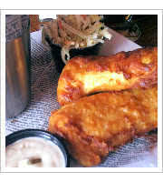 Fish and Chips at Slainte Irish Pub