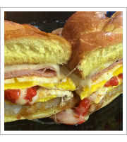 Italian Buster Sandwich at Jersey Girl Cafe