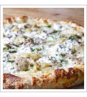 Italian White Pizza at Those Pies Guys