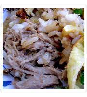Kalua Pork at Rutts Hawaiian Cafe and Catering