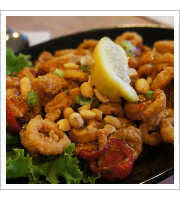 Kung Pao Calamari at Anthonys Seafood Restaurant