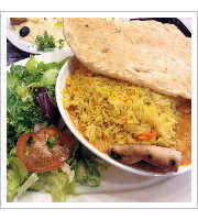 Lamb Briyani at Cafe Rakka