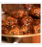 Lamb Meatballs at Naglee Park Garage