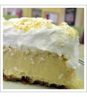 Lemon Icebox Pie at The Silver Skillet