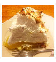 Lemon Meringue Pie at The Ritz Diner