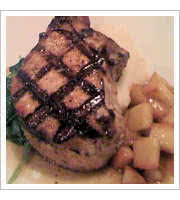Maple Glazed Pork Chop at Jakes Good Eats