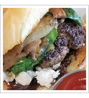 Mediterranean Lamb Burger at Delight