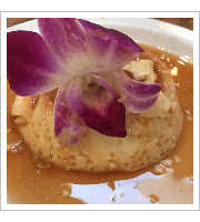Mexican Flan at Agave