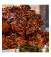 Nashville Hot Chicken at Sisters and Brothers Bar
