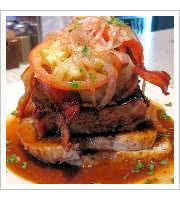 Open-Faced Meatloaf Sandwich at Comet Cafe