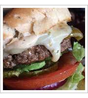 Pancho Villa Burger at Grill-A-Burger