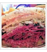 Pastrami & Corned Beef Sandwich at Sam LaGrassas